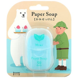Charley, Paper Soap, Mint, 50 Sheets