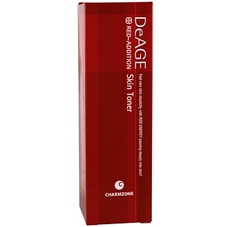 Charmzone, DeAge, Red-Addition, Skin Toner, 4.39 fl oz (130 ml)