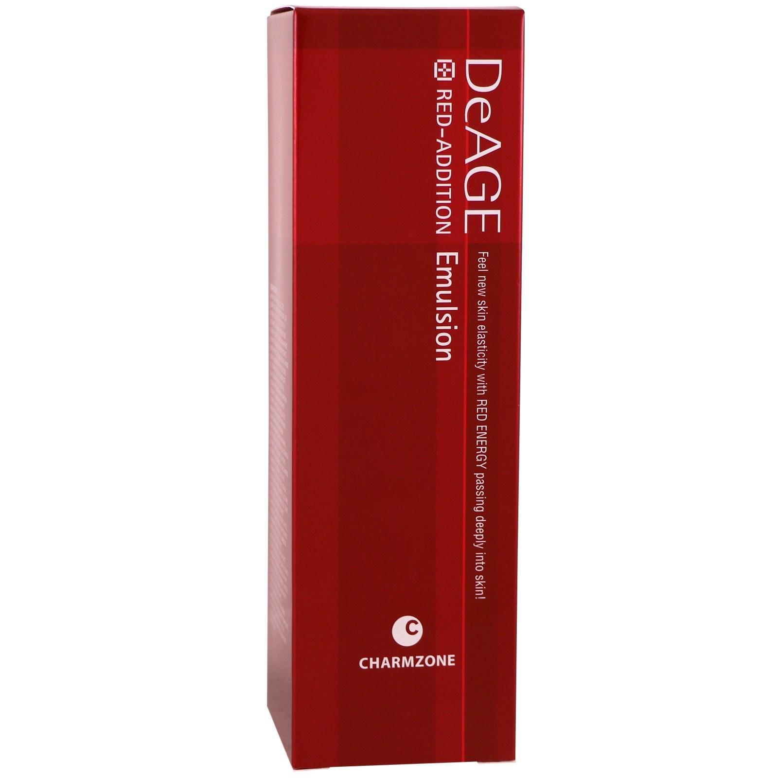 Charmzone, DeAge, Red-Addition, Emulsion, 4.39 fl oz (130 ml)