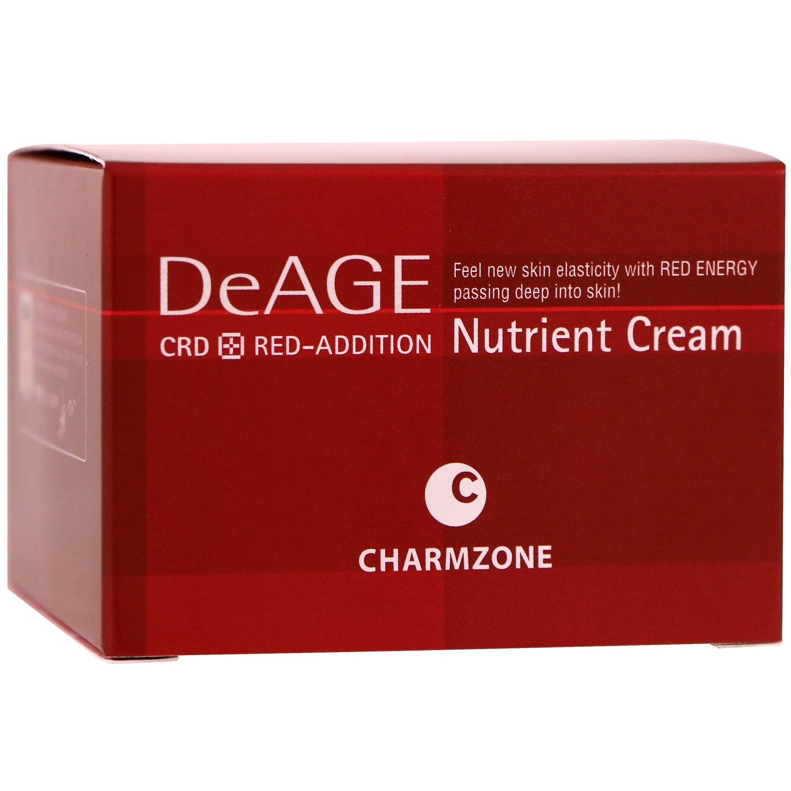 Charmzone, DeAge, красная добавка, питающий крем, 50 мл