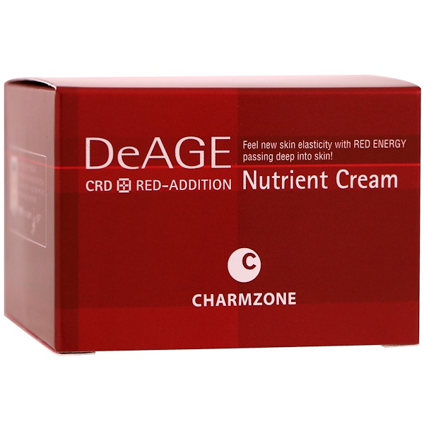 Charmzone, DeAge, Red-Addition, Nutrient Cream, 50 ml