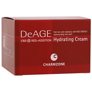Charmzone, DeAge, Red-Addition, Hydrating Cream, 50 ml
