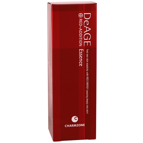 Charmzone, DeAge, Red-Addition, Essence, 1.69 fl oz (70 ml) (Discontinued Item)