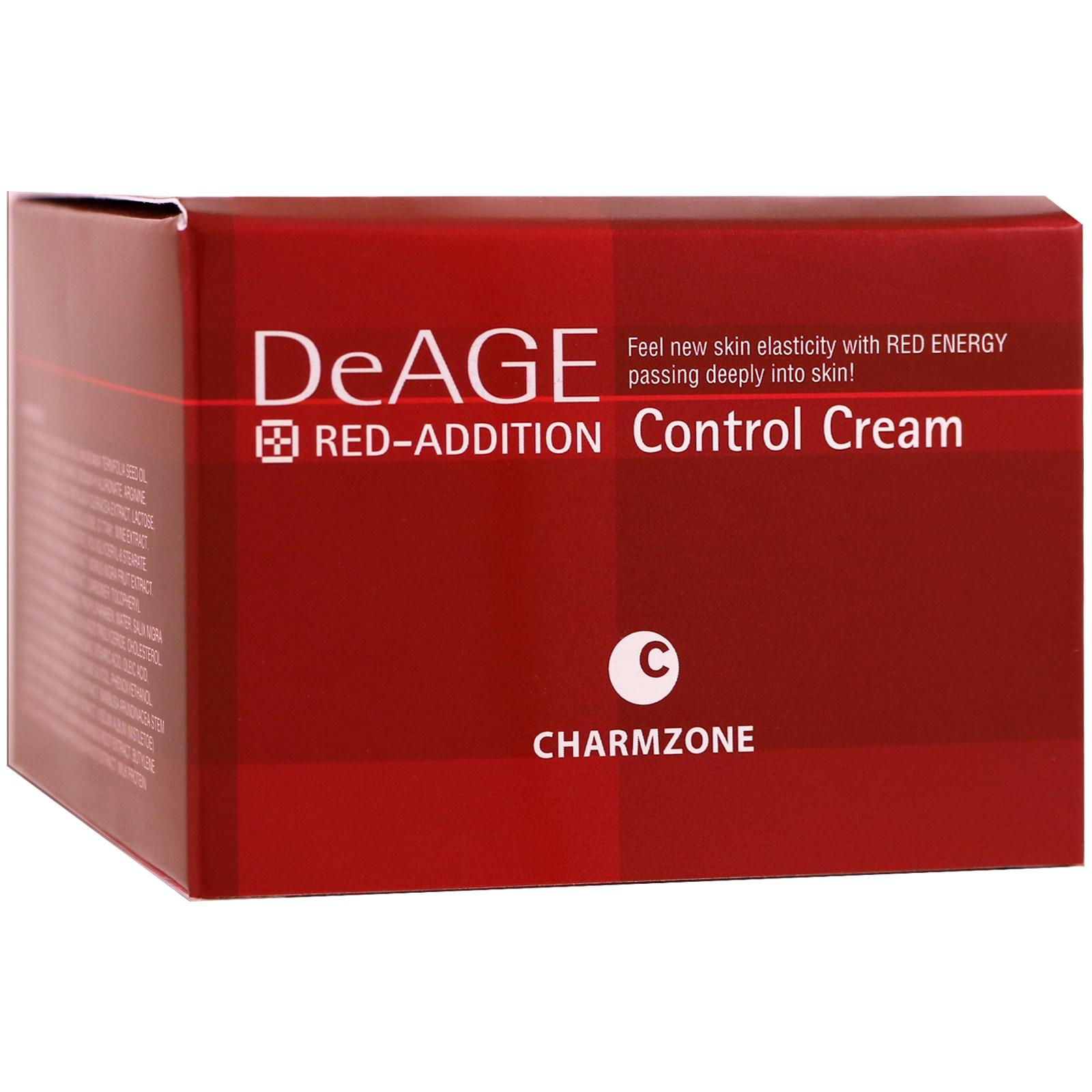 Charmzone, DeAge, Red-Addition, крем для улучшения кожи лица, 6,08 унций (180 мл)