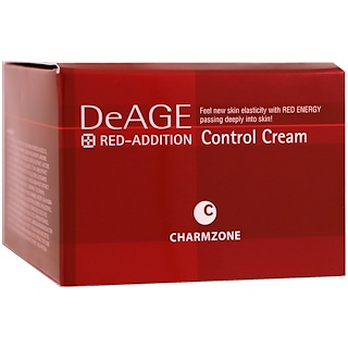 Charmzone, DeAge, Red-Addition, Control Cream, 6.08 fl oz (180 ml)