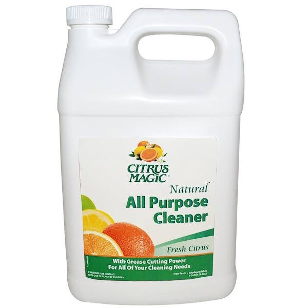 Citrus Magic, All Purpose Cleaner Refill, Fresh Citrus, 1 Gallon (3.78 l) (Discontinued Item)