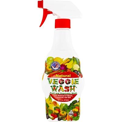 Купить Citrus Magic Veggie Wash, средство для мытья фруктов и овощей, 473 мл (16 жидких унций)