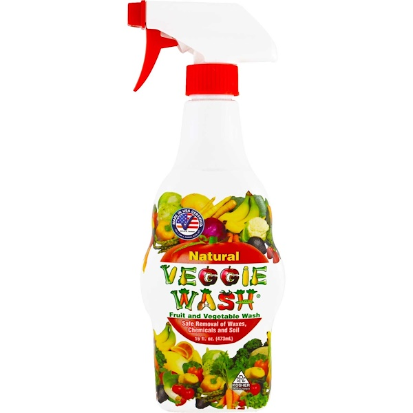 Citrus Magic, Veggie Wash, Fruit and Vegetable Wash, 16 fl oz (473 ml)