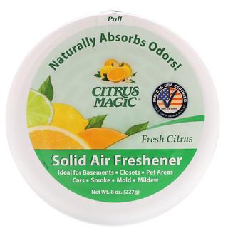 Citrus Magic, 솔리드 공기 청정제(Solid Air Freshener), 신선한 시트러스, 8 oz (227 g)