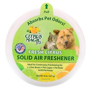 Ситрус Мэджик, Solid Air Freshener, Fresh Citrus, 8 oz (227 g) отзывы