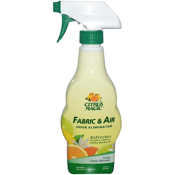 Citrus Magic, Fabric & Air Odor Eliminator, Fresh Citrus Blossom, 16 fl oz (473 ml) (Discontinued Item)