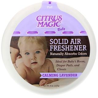 Citrus Magic, Baby, Solid Air Freshener, Calming Lavender, 8 oz (227 g)