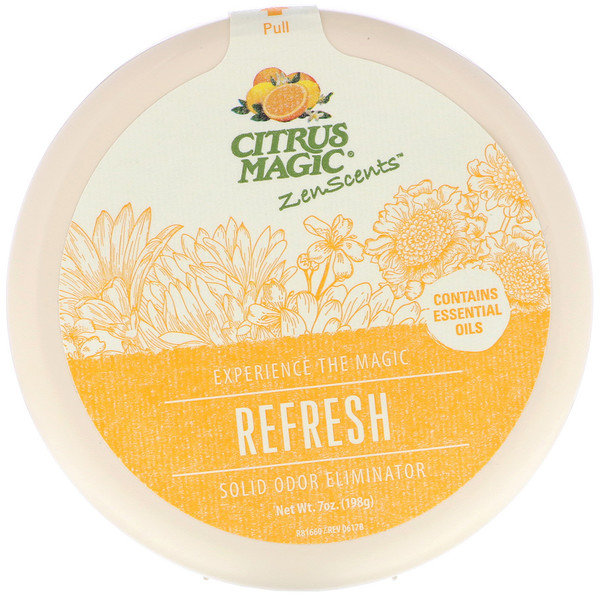 Citrus Magic, ZenScents, Refresh, 7 oz (198 g)