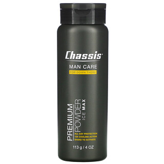 Chassis, Man Care, Premium Powder, Ice Max, 4 oz (113 g)