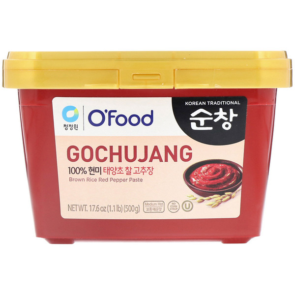 Chung Jung One, Gochujang Pasta de Arroz Rojo y Chile, 500 g (1.1 lb) (Discontinued Item)
