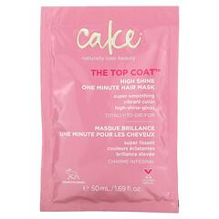 Cake Beauty, Top Coat,高亮一分鍾發膜,1.69 液量盎司(50 毫升)