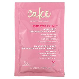 Cake Beauty, The Top Coat, High Shine One Minute Hair Mask, 1.69 fl oz (50 ml)