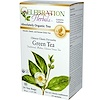 Celebration Herbals, Organic, Herbal Tea, Chinese Classic Favourite Green Tea, 24 Tea Bags, 1.27 oz (36 g) (Discontinued Item)