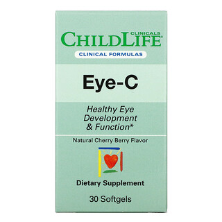 Childlife Clinicals, Eye-C, Natural Cherry Berry , 30 Softgels