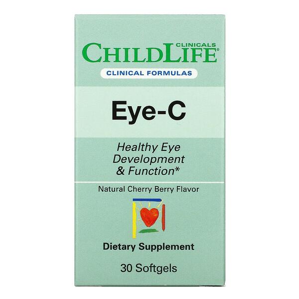 Eye-C, Cherry Berry , 30 Softgels
