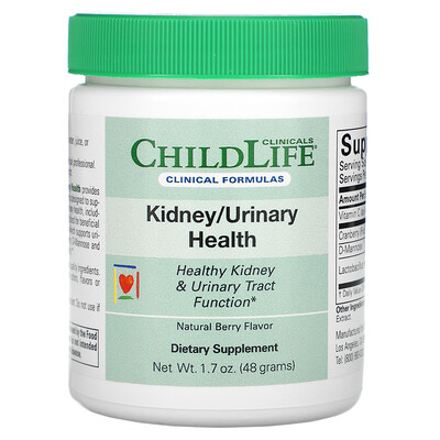 Купить Childlife Clinicals Kidney/Urinary Health, Natural Berry, 1.7 oz (48 g)