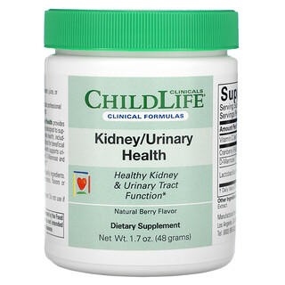 Childlife Clinicals, Kidney/Urinary Health, Natural Berry, 1.7 oz (48 g)