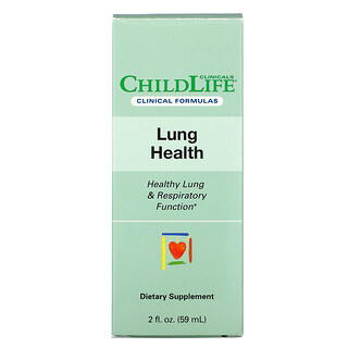 Childlife Clinicals, Lung Health, Healthy Lung & Respiratory Function, 2 fl oz (59 ml)