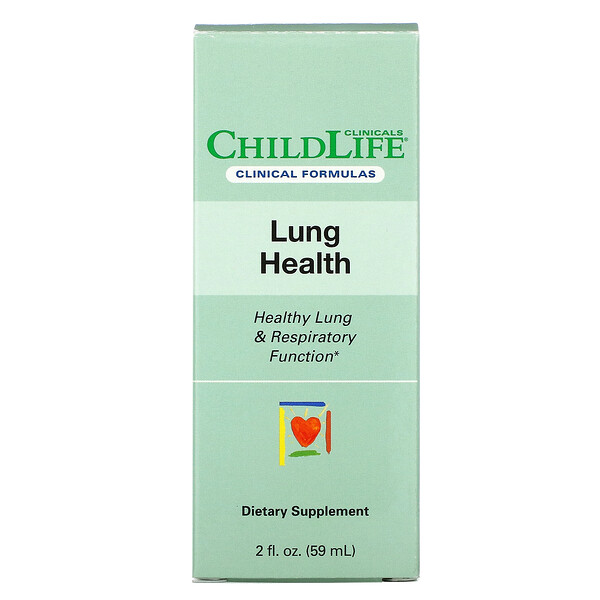 Lung Health, Healthy Lung & Respiratory Function, 2 fl oz (59 ml)