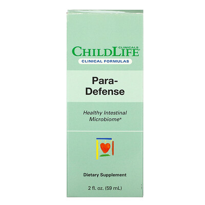 Купить Childlife Clinicals Para-Defense, Healthy Intestinal Microbiome, 2 fl oz (59 ml)
