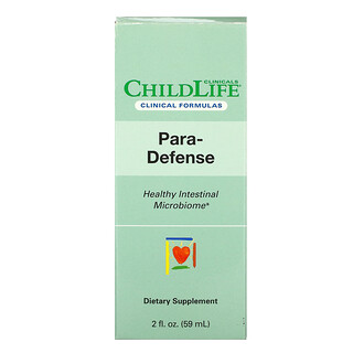 Childlife Clinicals, Para-Defense, Healthy Intestinal Microbiome, 2 fl oz (59 ml)