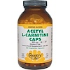 Country Life, Acetyl L-Carnitine Caps, 500 mg, 240 Vegetarian Capsules (Discontinued Item)