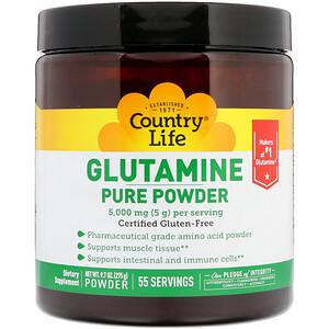 Кантри Лайф, Glutamine Pure Powder, 5,000 mg, 9.7 oz (275 g) отзывы покупателей