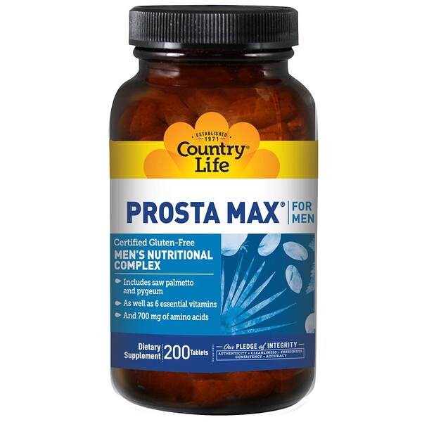 Prosta Max for Men, 200 Tablets