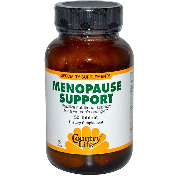 Country Life, Menopause Support, 50 Tablets (Discontinued Item)