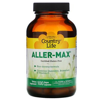 Country Life Aller-Max, 100 Vegetarian Capsules