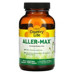 Country Life, Aller-Max,100 粒素食膠囊