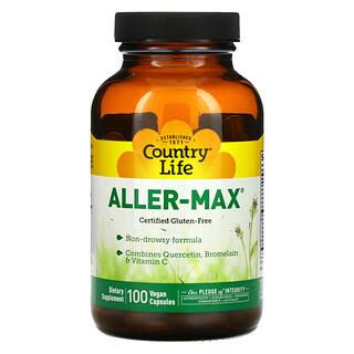 Country Life, Aller-Max, 100 Vegan Capsules