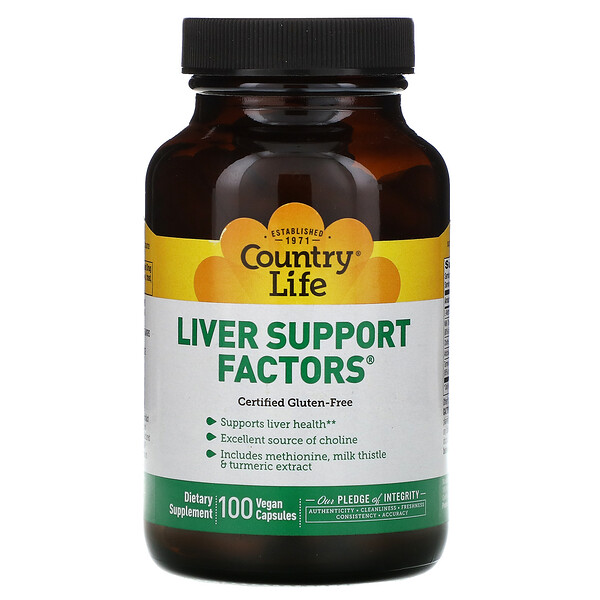 Liver Support Factors, 100 Vegan Capsules
