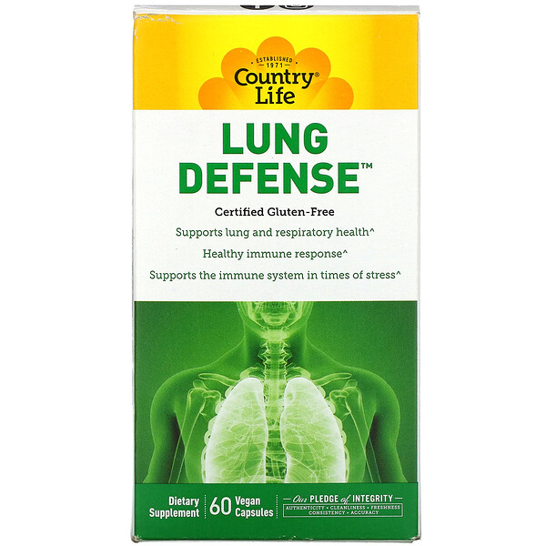 Lung Defense, 60 Vegan Capsules