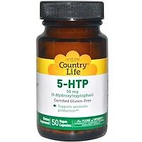 5-HTP (5-гидрокситриптофан), 50 мг, 50 веганских капсул - фото