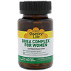 Country Life, DHEA Complex For Women, 60 Vegan Capsules