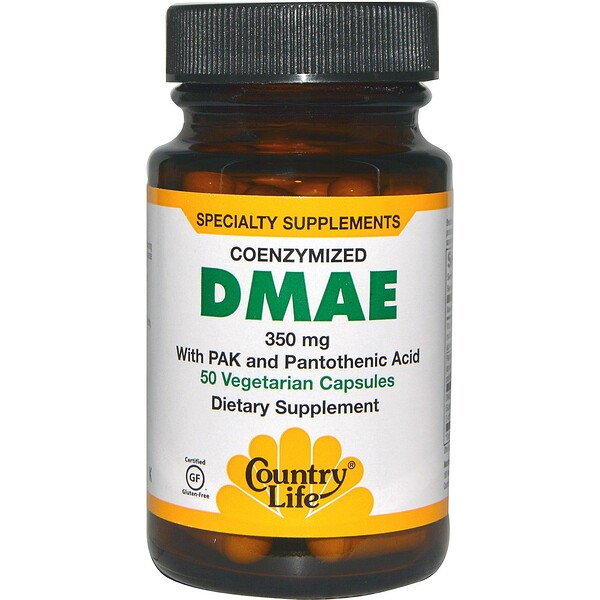 Coenzymized DMAE, 350 mg, 50 Vegetarian Capsules
