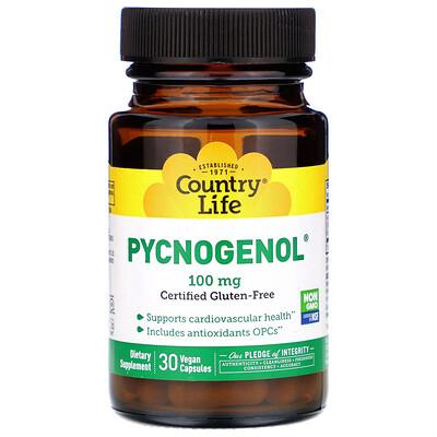 Фото - Pycnogenol, 100 mg, 30 Vegan Capsules grapefruit seed 250 mg 60 vegan capsules