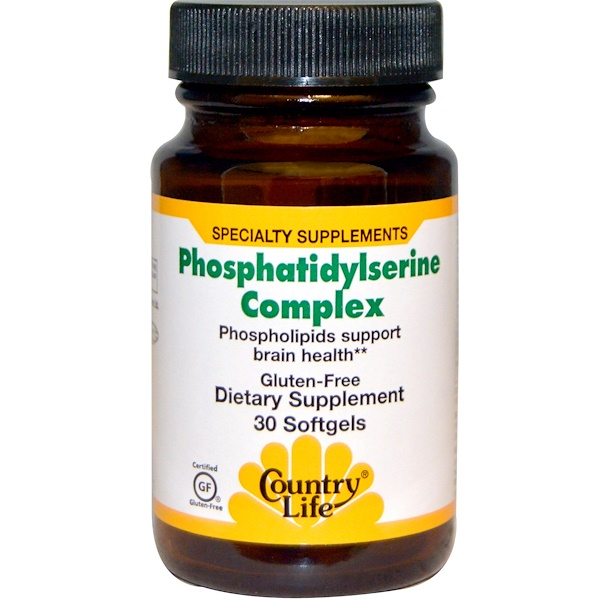 Country Life, Phosphatidylserine Complex, 30 Softgels (Discontinued Item)