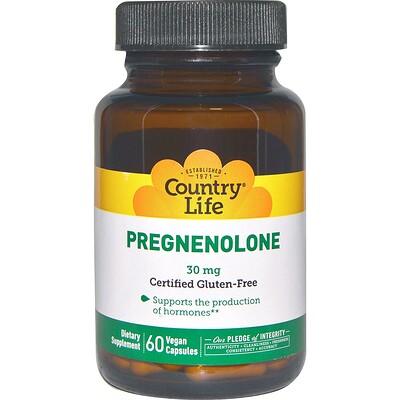 цена Прегненолон, 30 мг, 60 растительных капсул