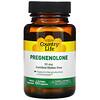 Country Life, Pregnenolona, 30 mg, 60 cápsulas vegetarianas