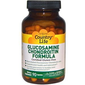 Кантри Лайф, Glucosamine Chondroitin Formula, 90 Capsules отзывы покупателей
