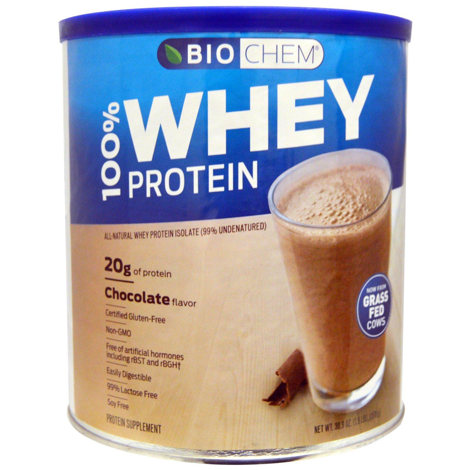 Country Life, BioChem Sports, 100% порошок сывороточного белка, шоколадная помадка, 30,8 унций (879 г)