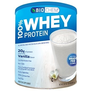 Country Life, BioChem, 100% Whey Protein, Powder, Vanilla, 30.2 oz (857 g)