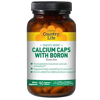 Country Life, 타겟민스, 붕소와 칼슘 캡슐, 90 베지캡스